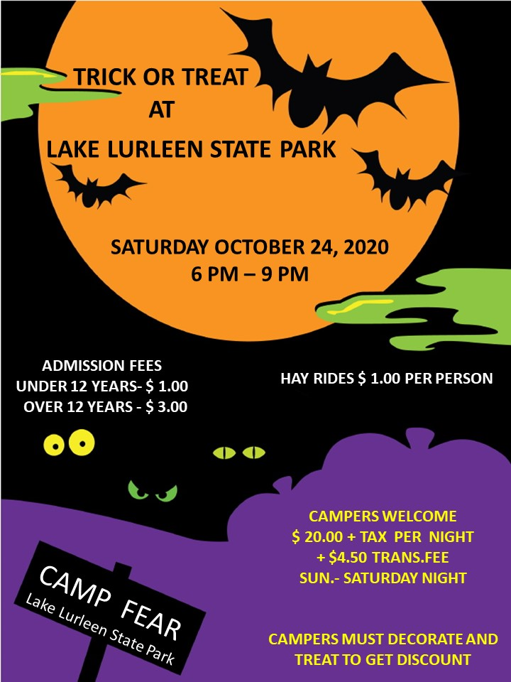 Halloween In Desoto State Park 2020 Camp Fear Halloween Event | Alapark