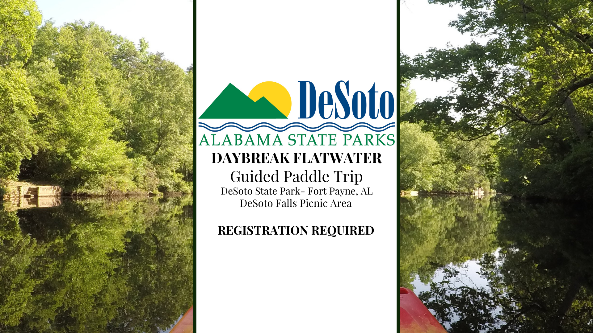 DSP Daybreak Flatwater Paddle Trip