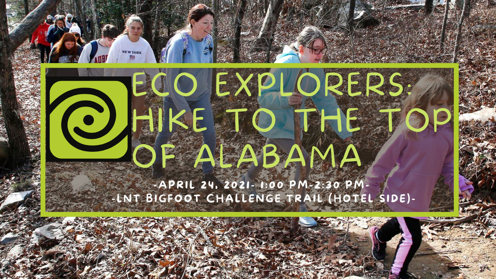 CSP Eco Explorers: Leave No Trace Hike to the Top of Alabama