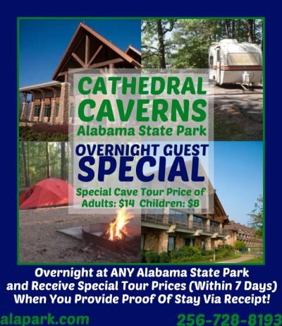 Alabama State Park Overnight Special