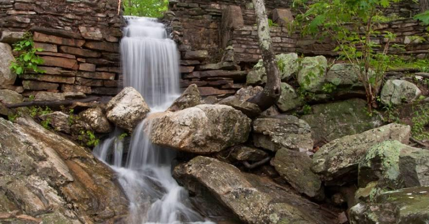Cheaha Pond Waterfall