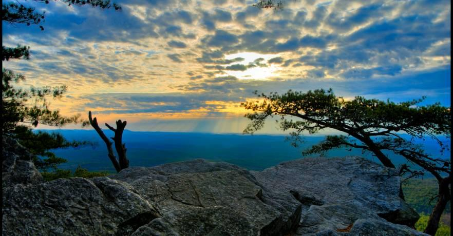 Cheaha Pulpit Rock 2