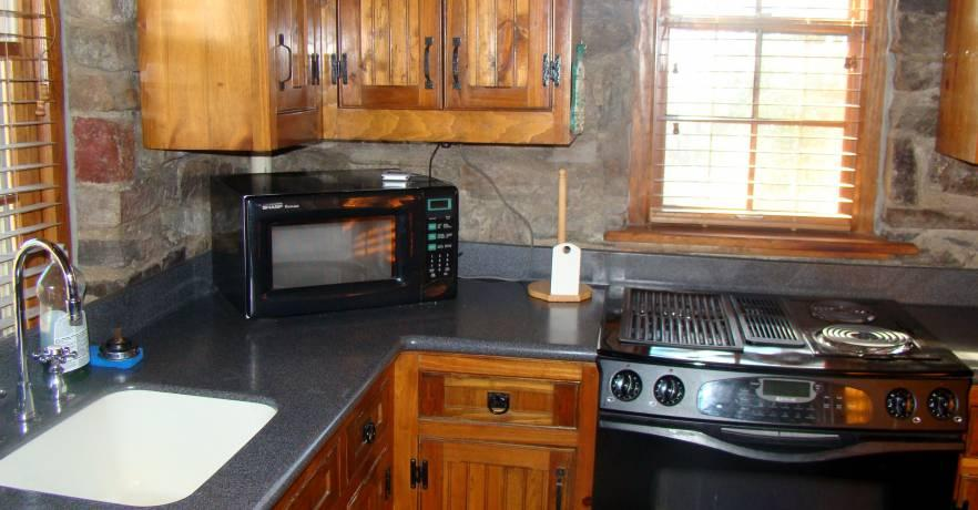 Cheaha Four Person Cabin Kitchen 2