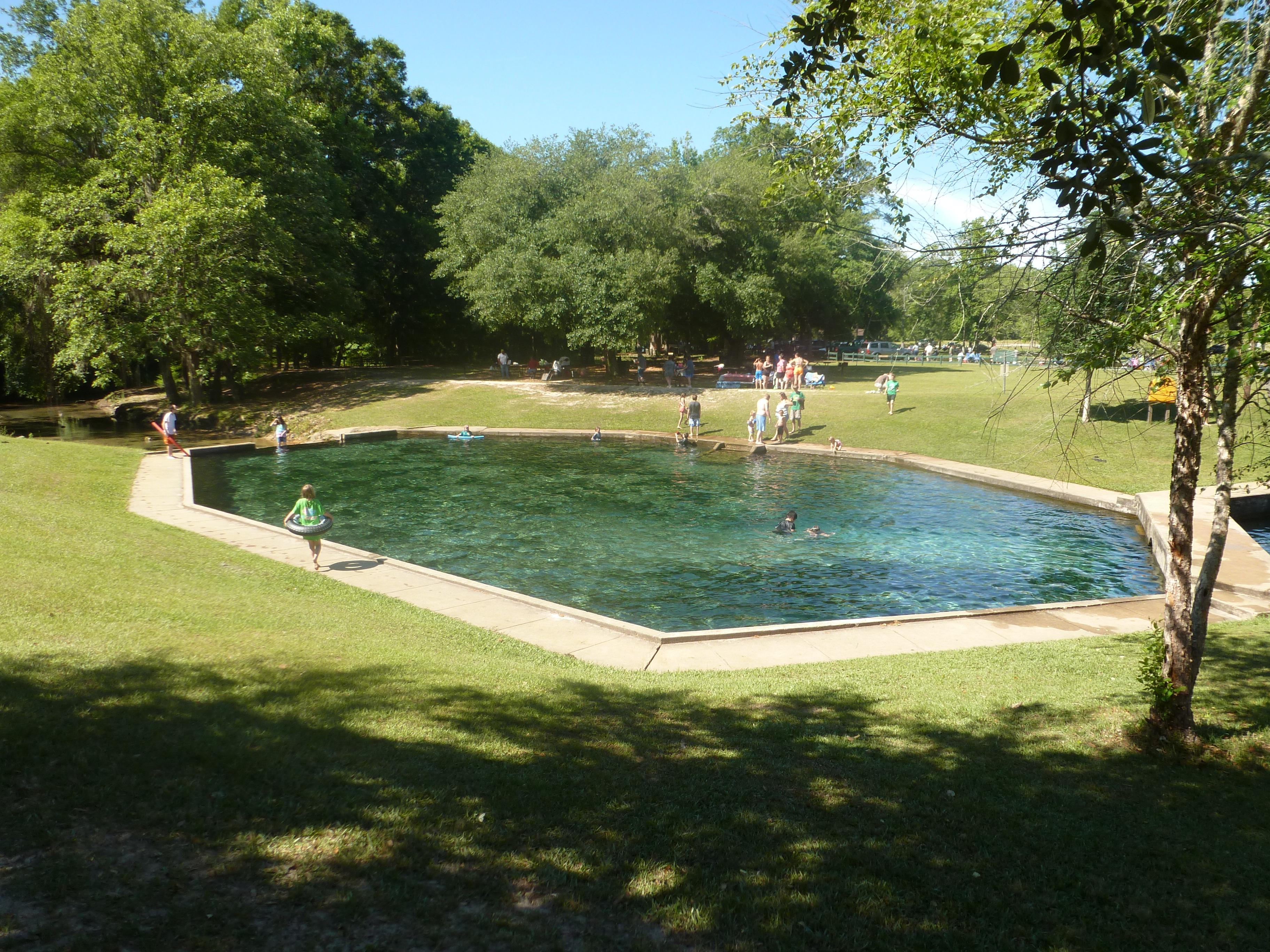 Blue Springs State Park Pool