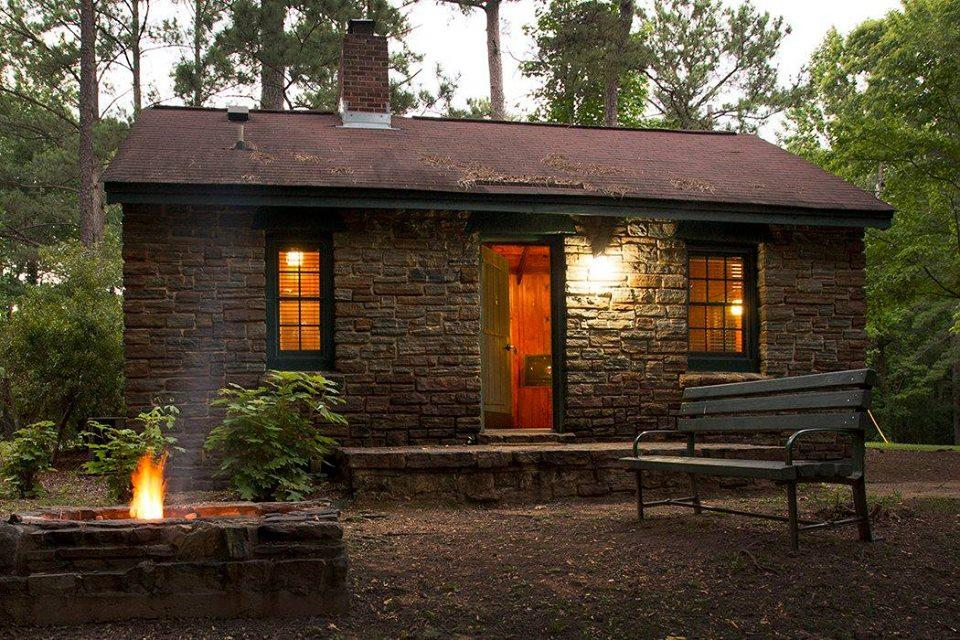 Chewacla State Park CCC Cabin