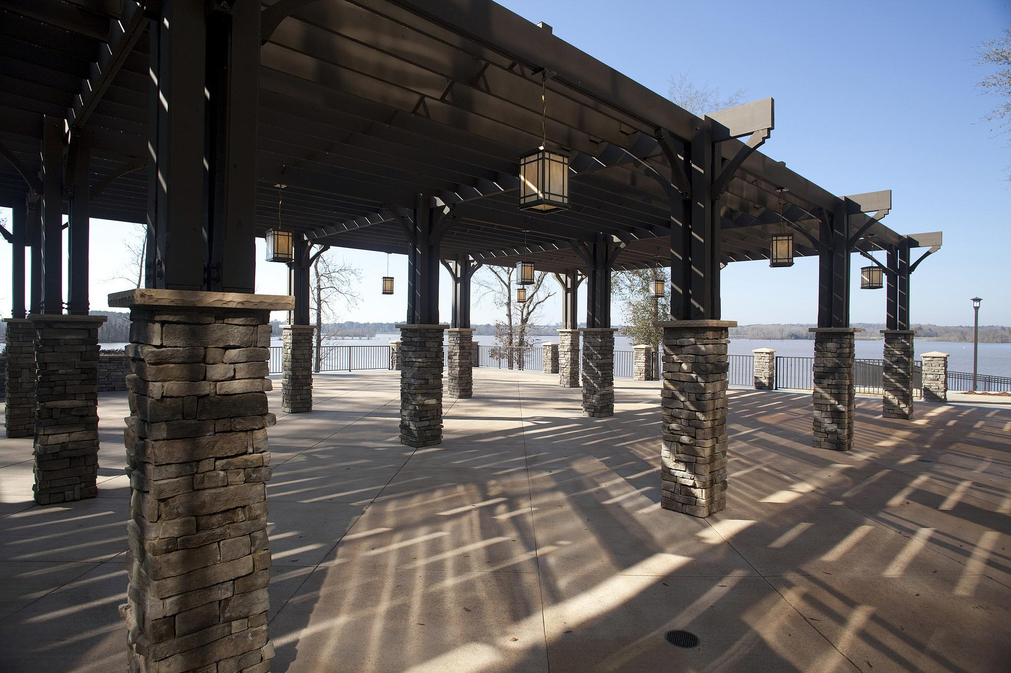 Lakepoint State Park Patio