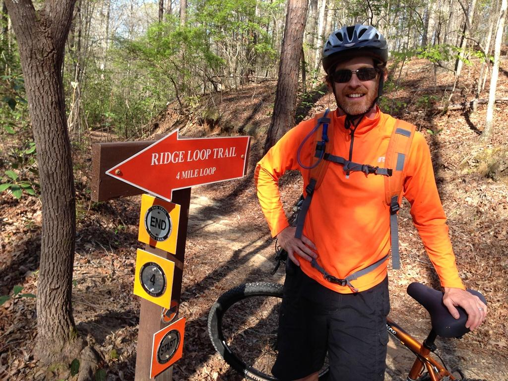 Lake Lurleen Mountain Bike Trails by @FroggyMonkey