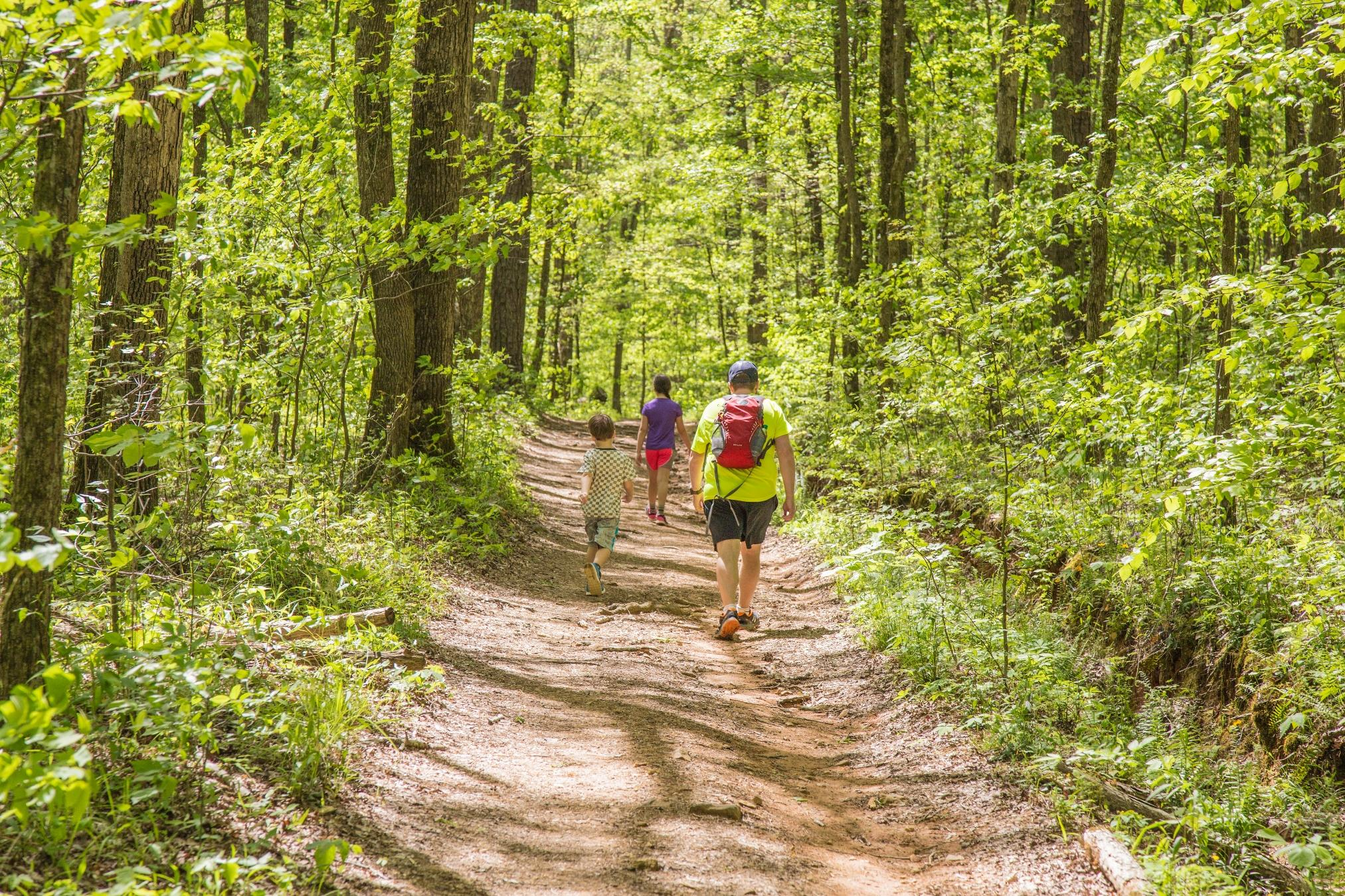Oak Mountain State Park Trails Family by Rachel Callahan