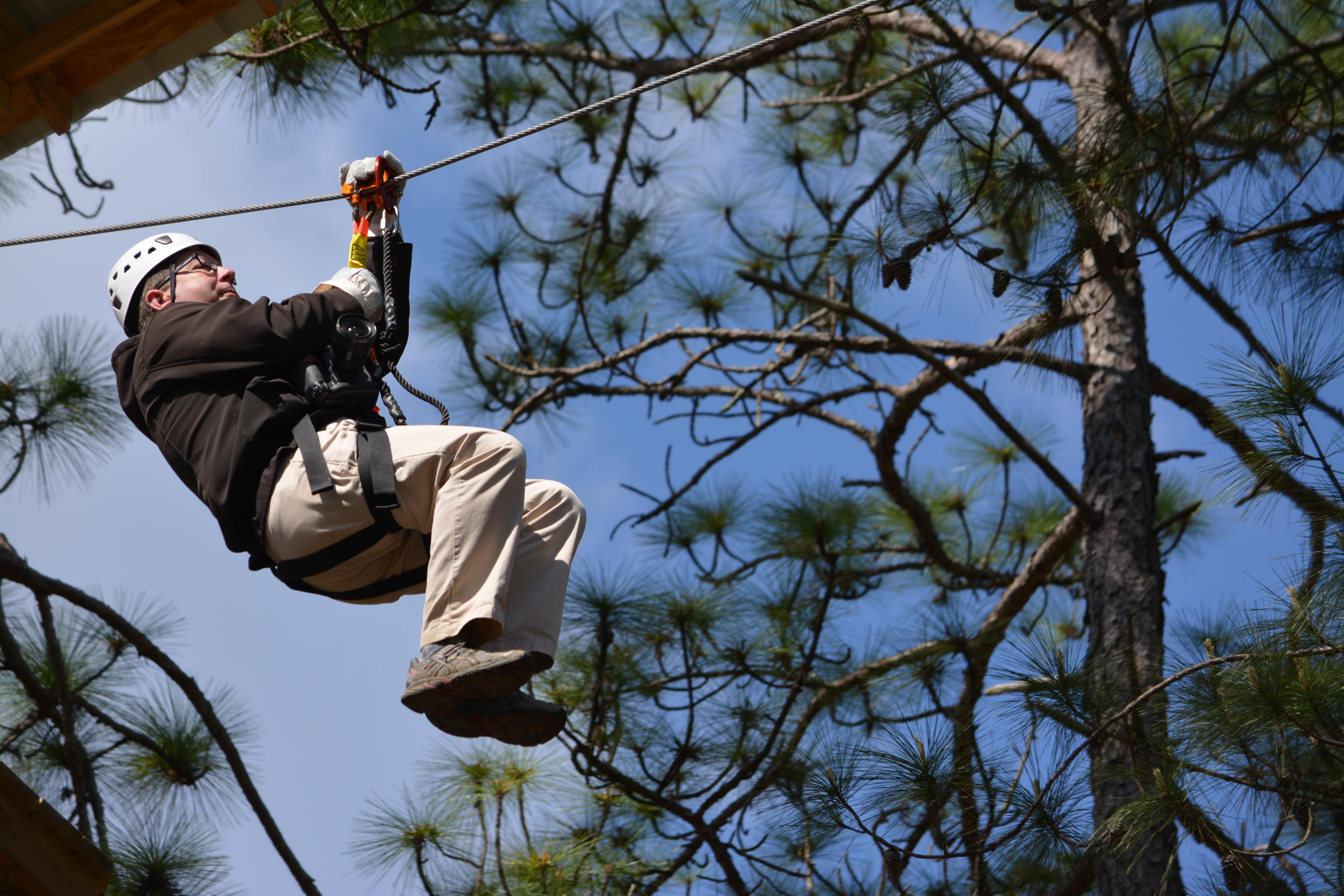 Wind Creek State Park Zip Line