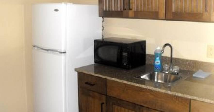 Lakepoint King Suite Kitchenette 1