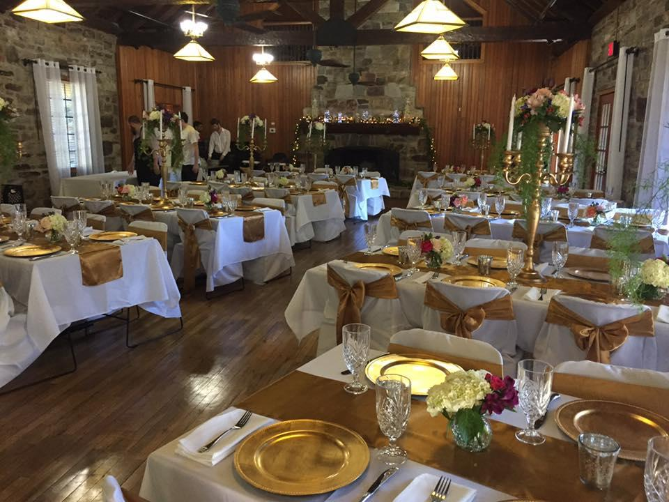 Cheaha Bald Rock Wedding Decorations