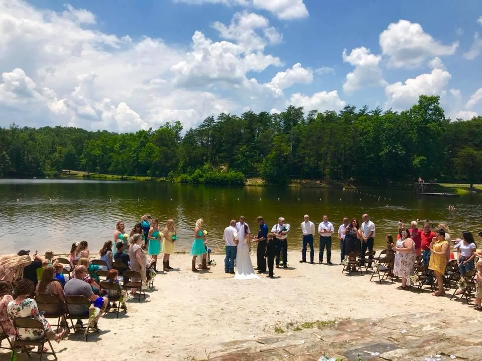 Cheaha Lake Wedding