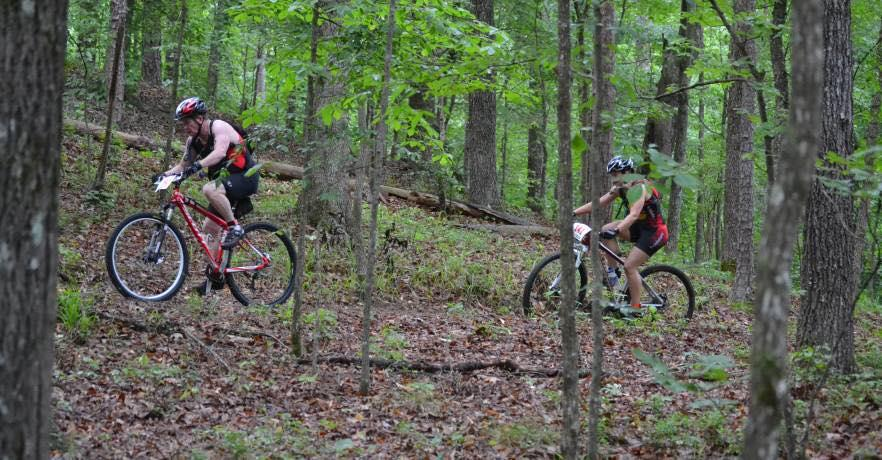 Cheaha Mt. Biking