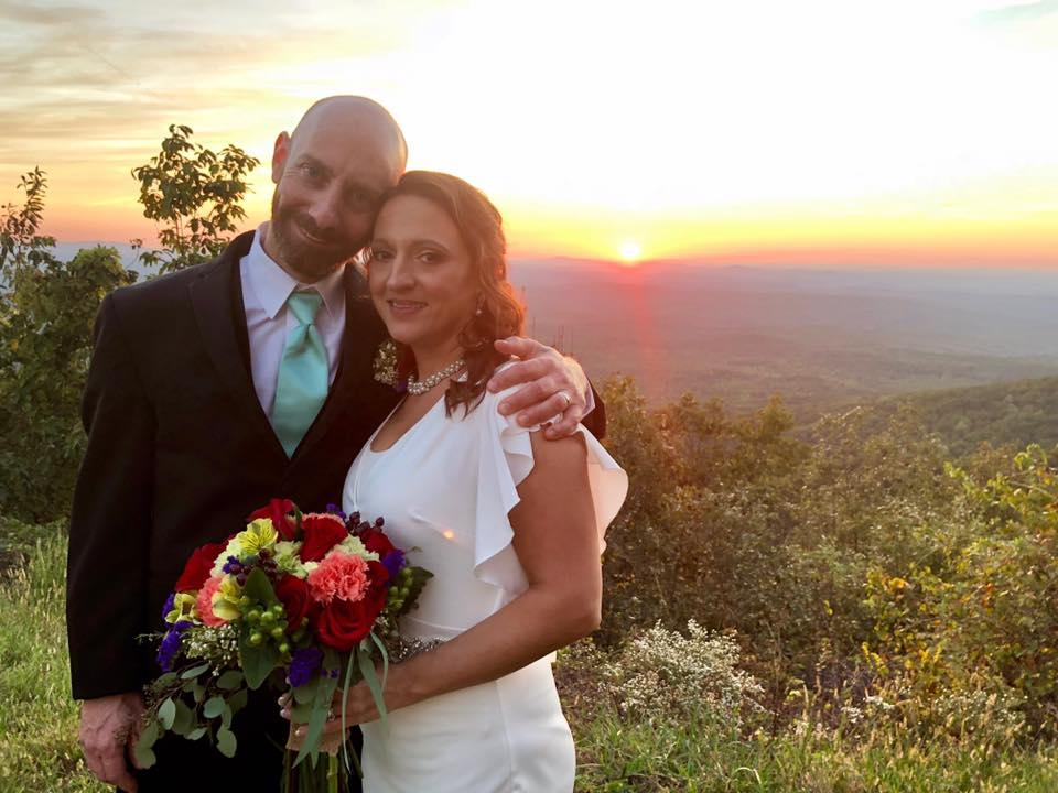 Cheaha Sunset Wedding