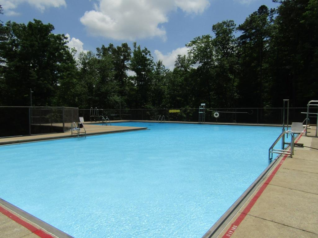 DeSoto State Park Swimming Pool Overview