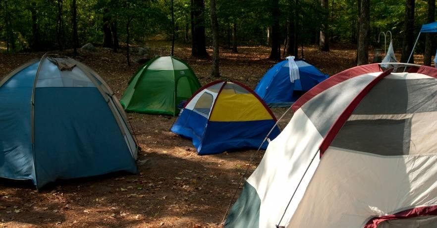 Primitive Group Camping Site