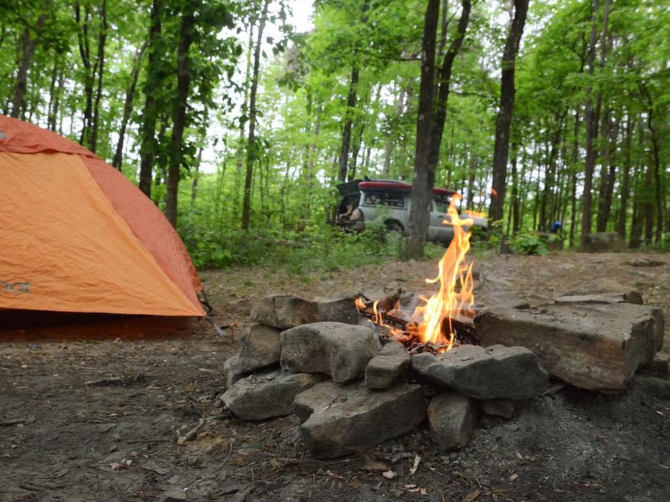 Cheaha Primitive Camping