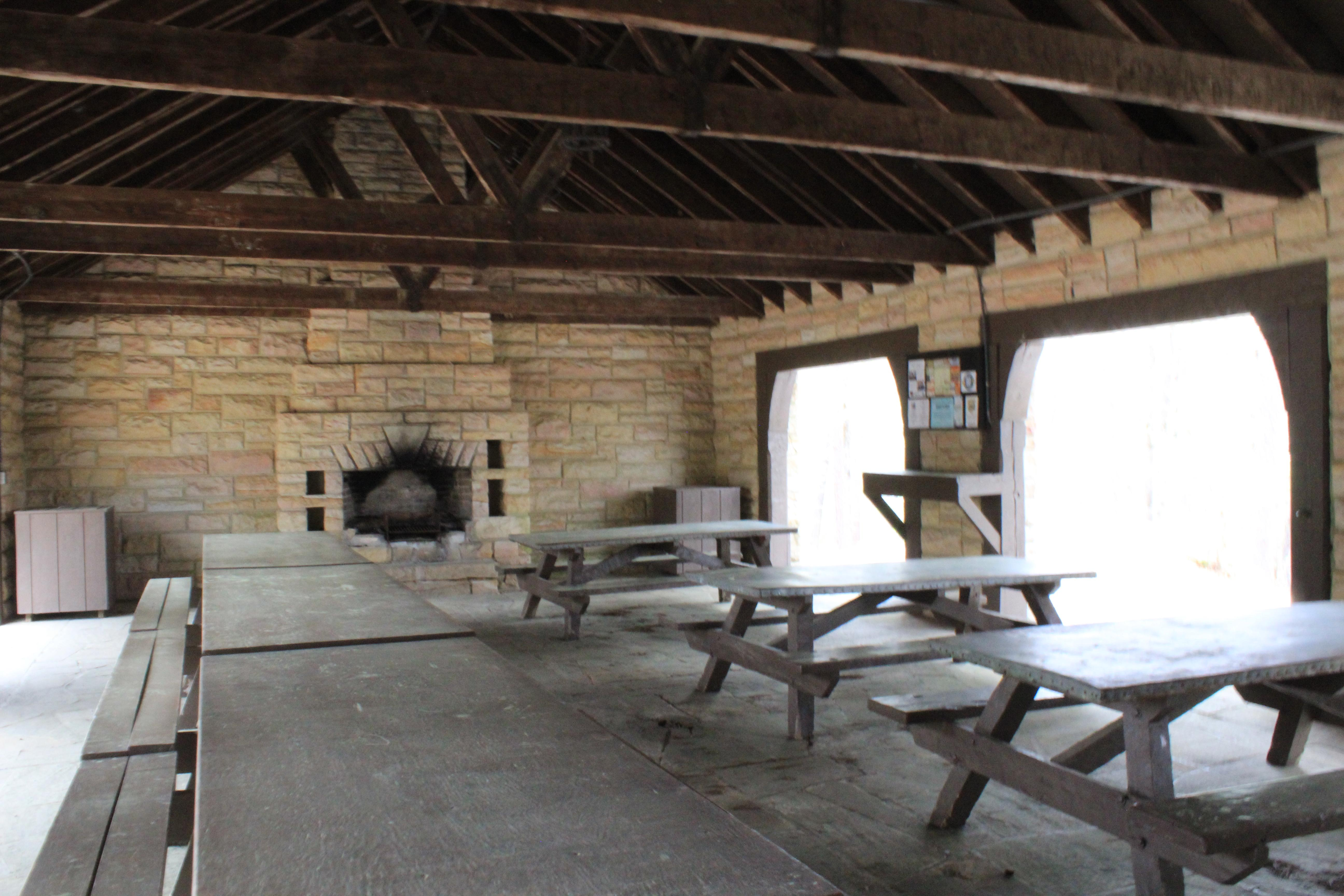 Picnic Shelter #1 Inside