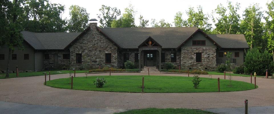 Monte Sano Event Lodge Front