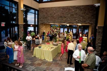 Lakepoint State Park patio reception