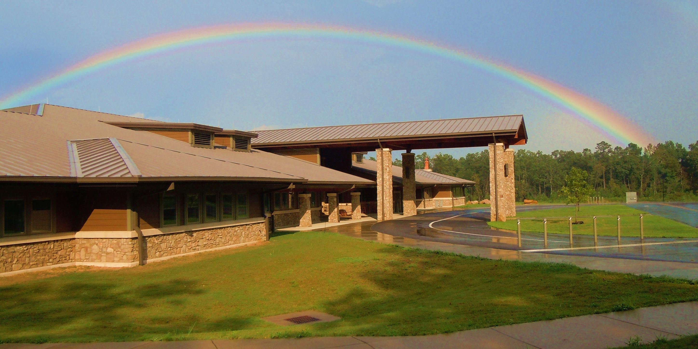 Little River Canyon Center with Rainbow