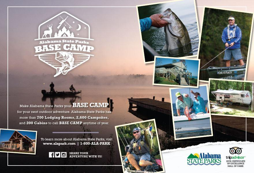 Alabama State Parks Is Basecamp for Fishing
