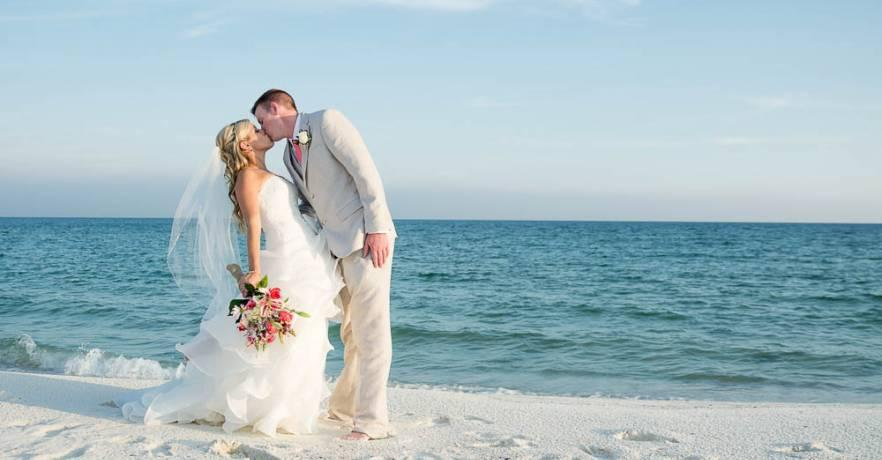 Beach Wedding Pictures for the Bride and Groom
