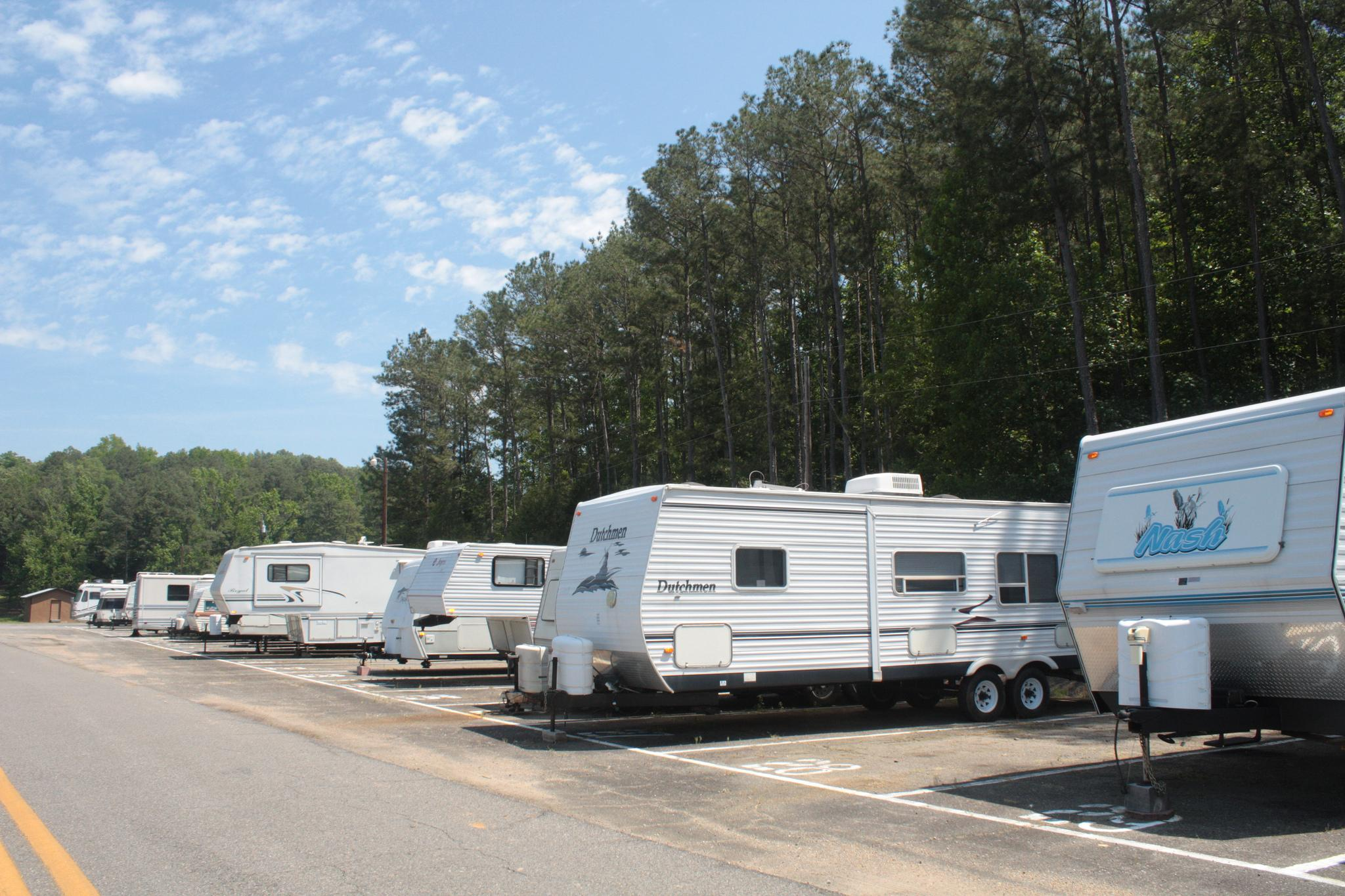 Lake Lurleen State Park RV Storage