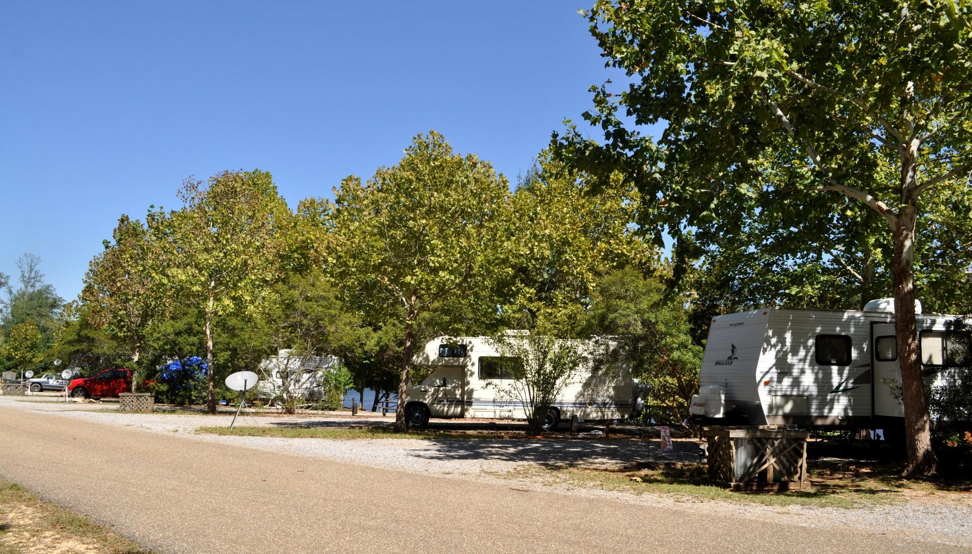 Paul Grist State Park Campground