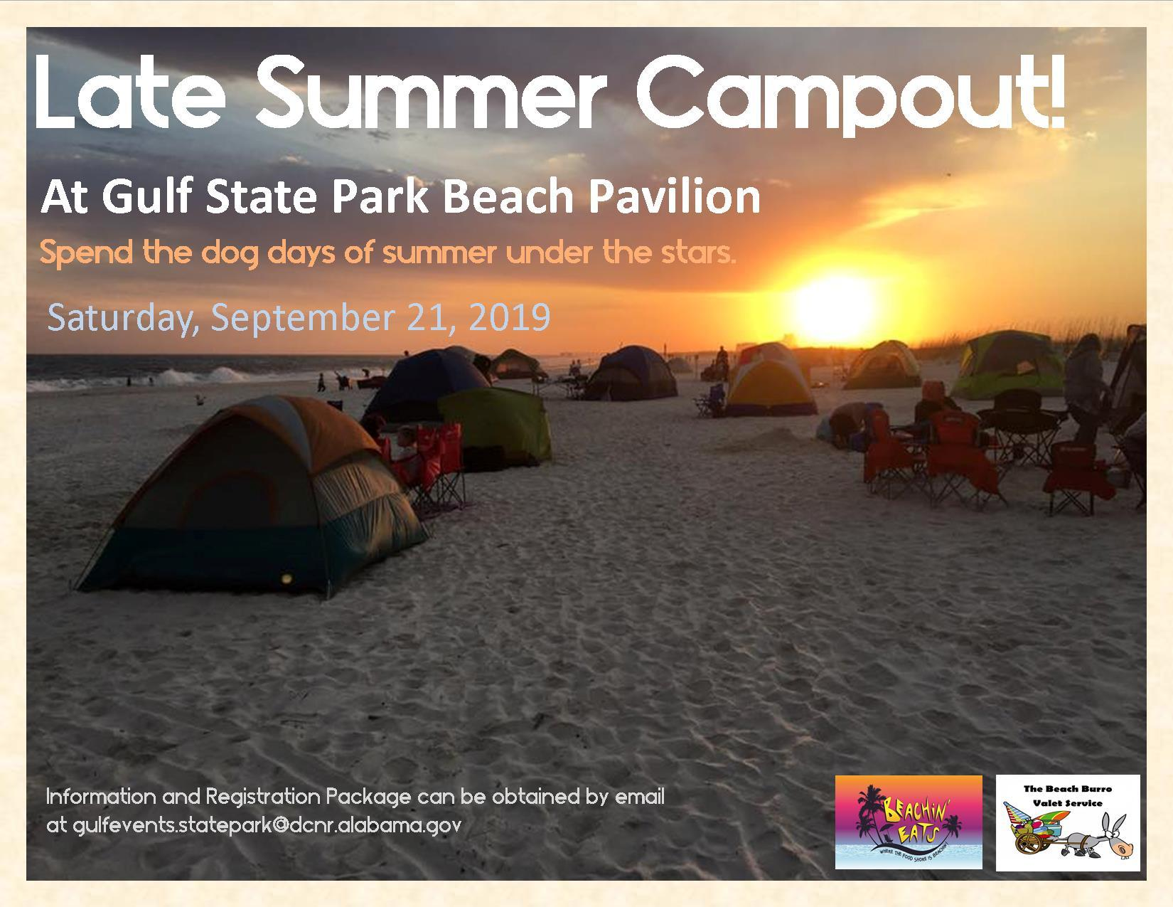 Late Summer Beach Campout 9 21 19