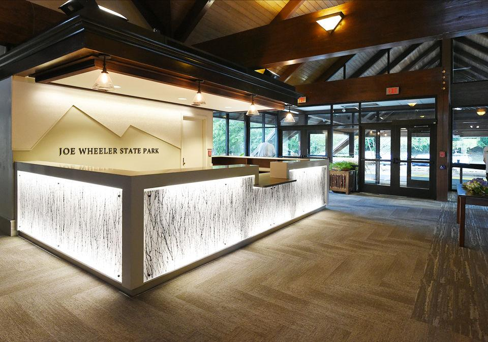 Joe Wheeler State Park New Lobby