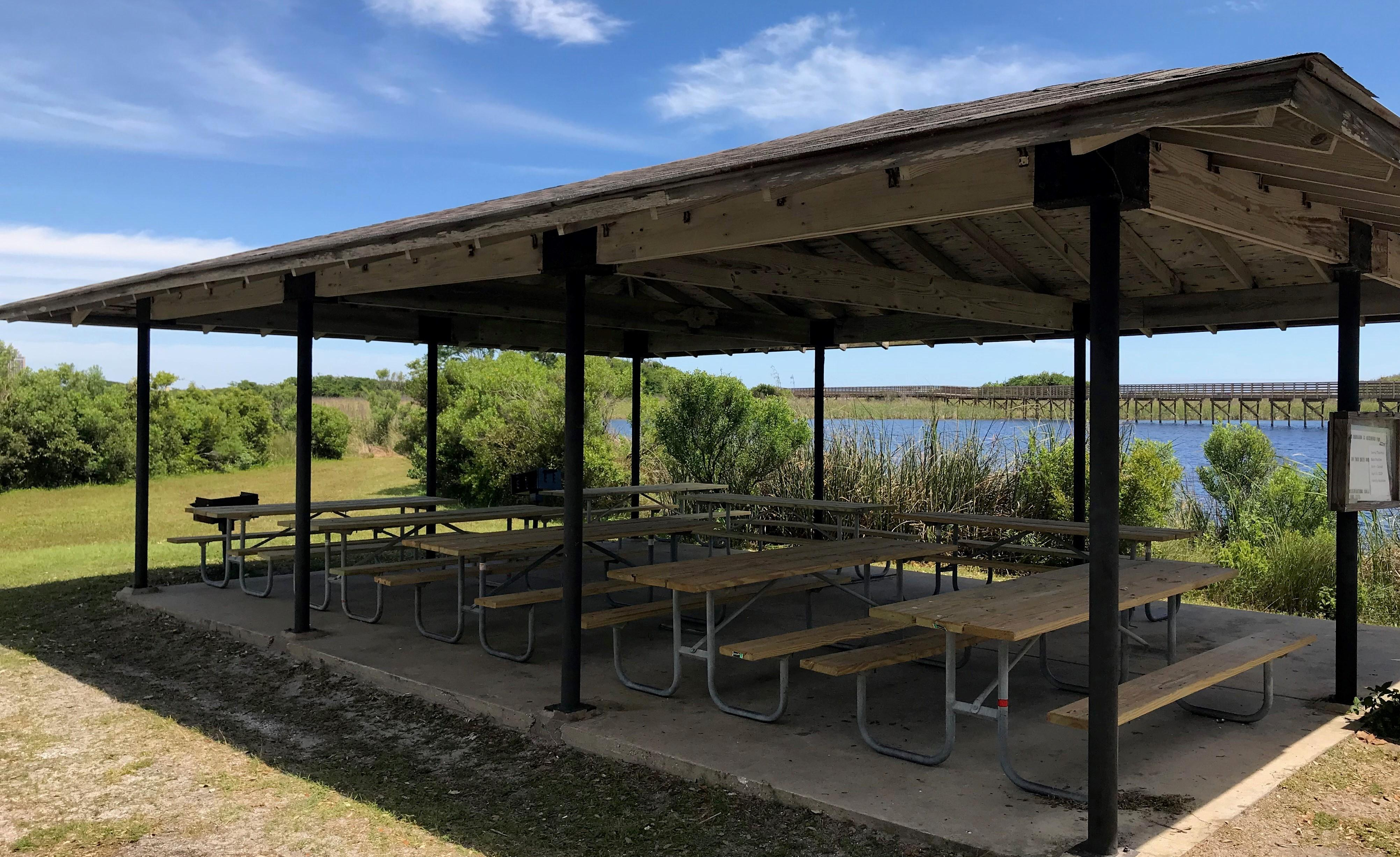 Lake Shelby Back Pavilion Update