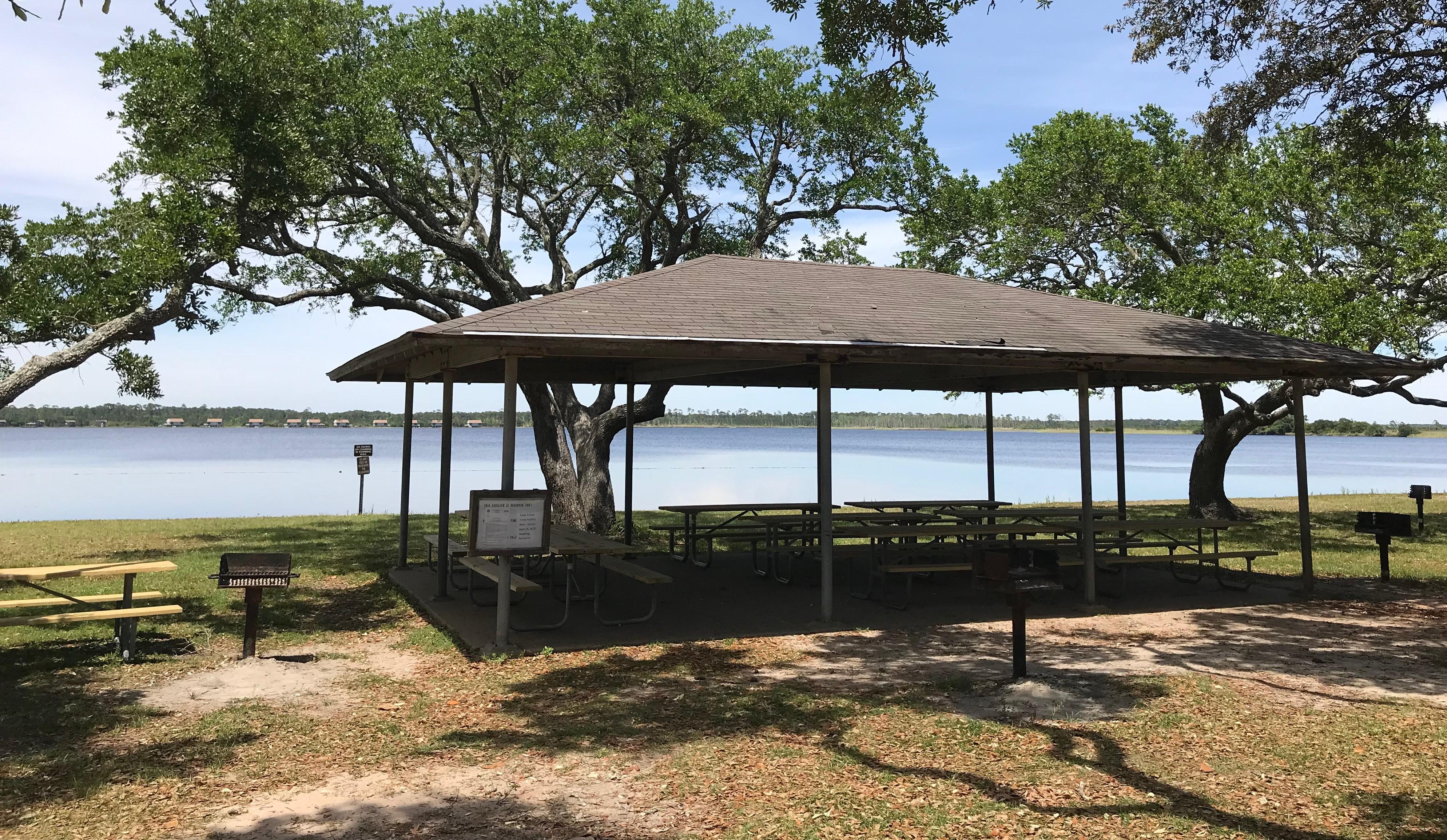 Lake Shelby Front Pavilion Update