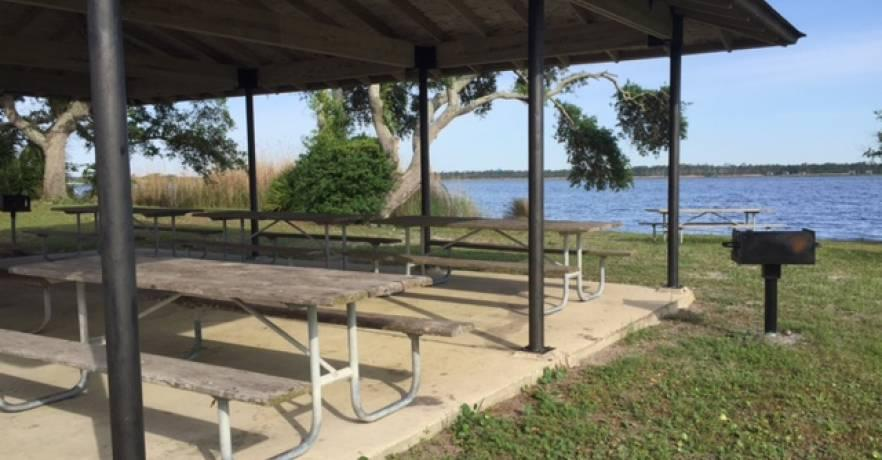 Lake Shelby Picnic Pavilion