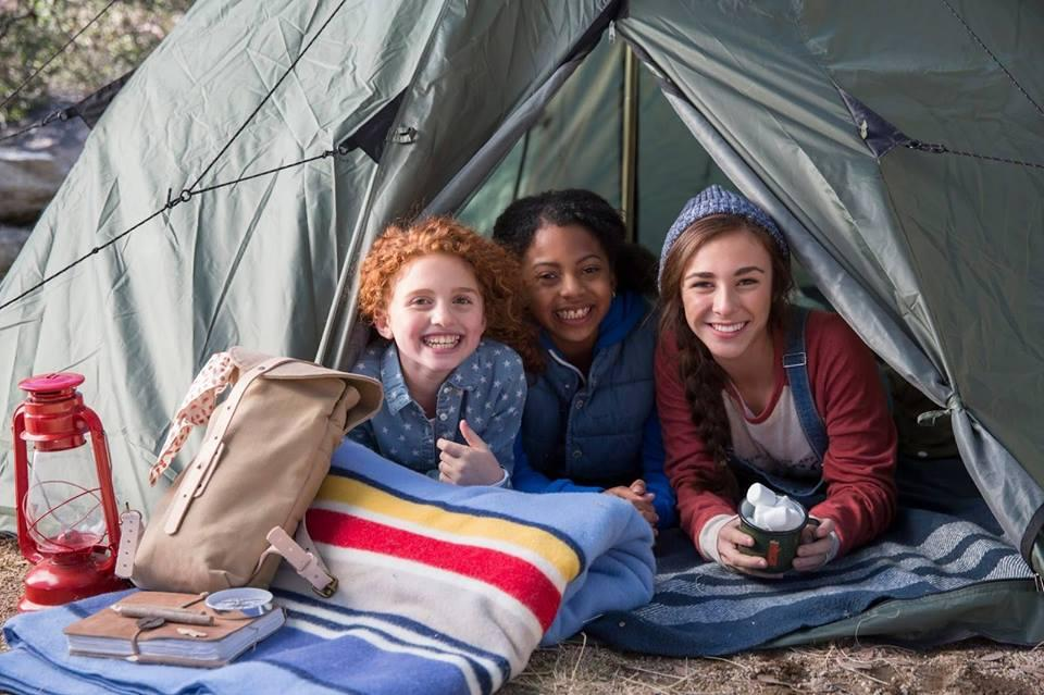 Cheaha Girl Scout Camping