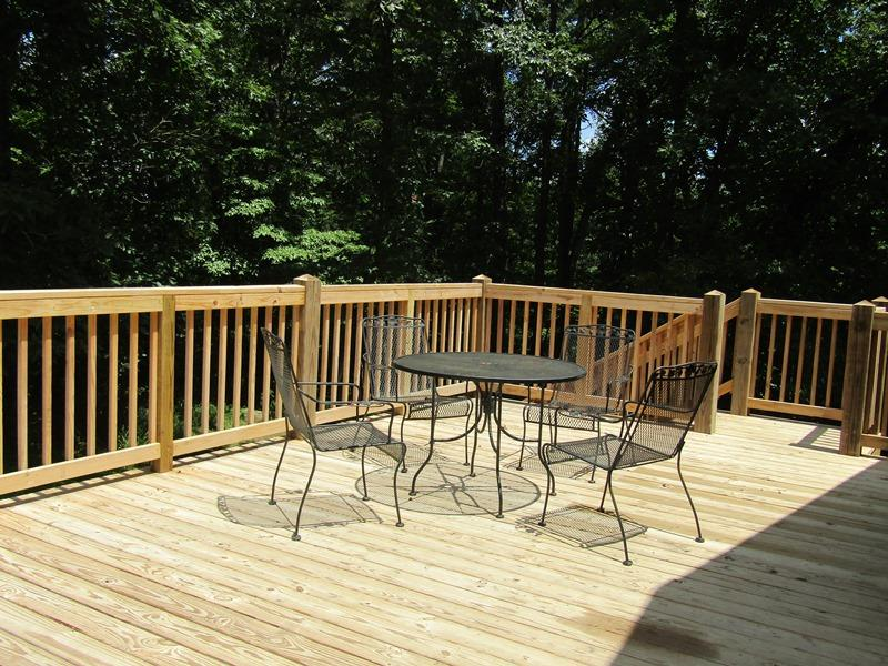 DSP Cabin 3 Outside deck