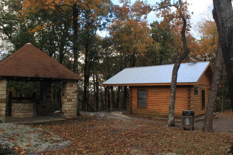 DSP Camping Cabin in Primitive Campground