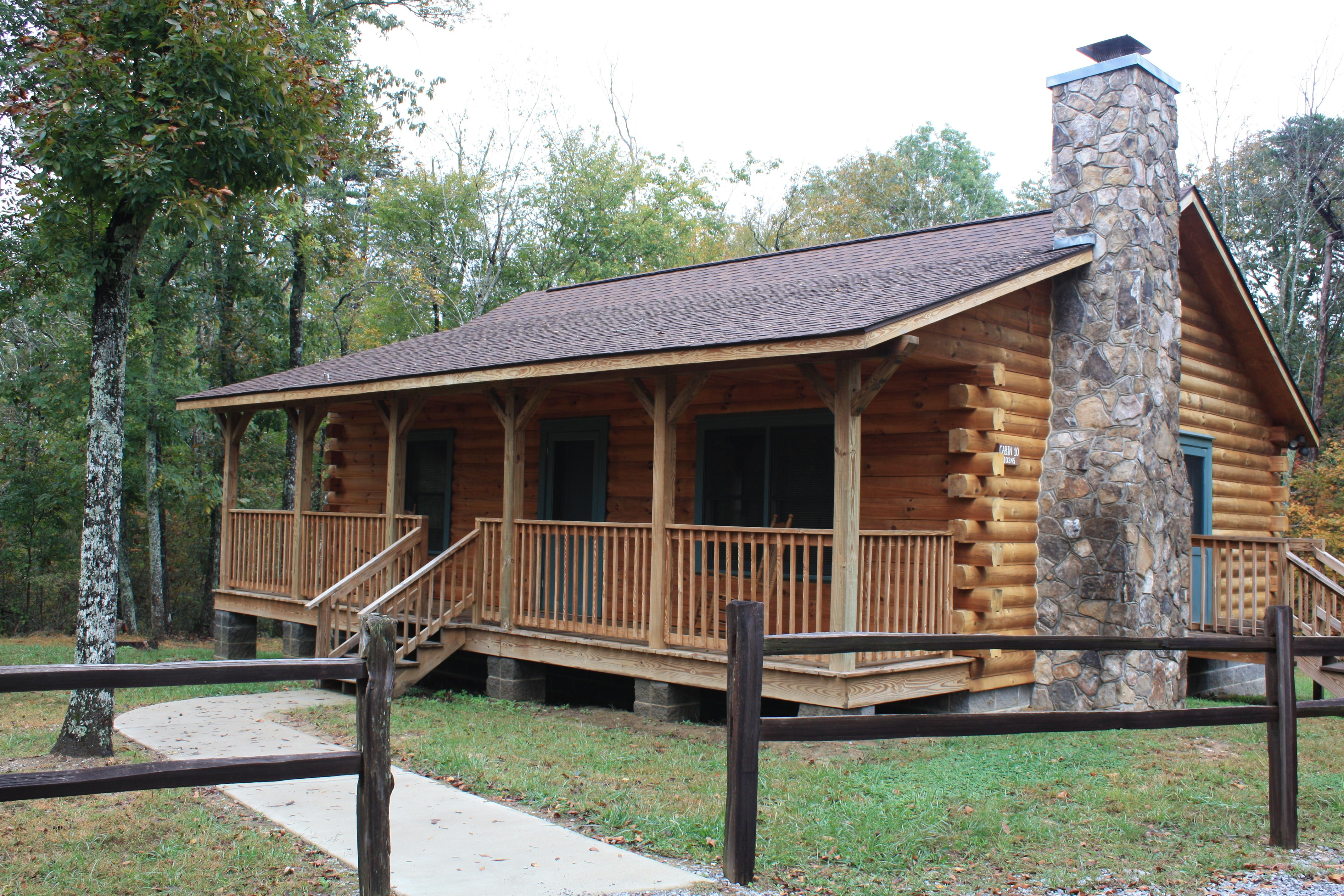 DSP Log cabin