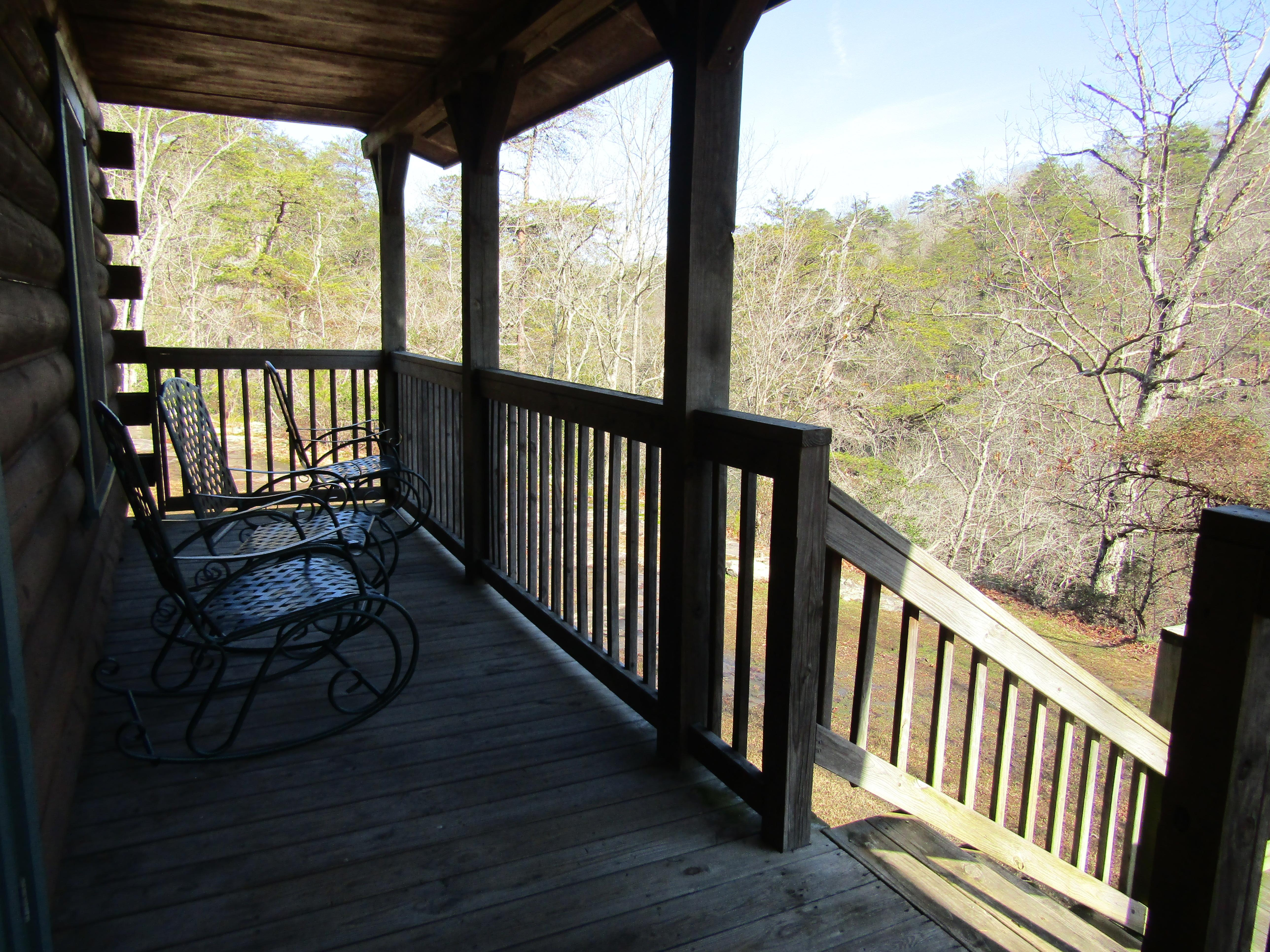 DSP Log cabin porch