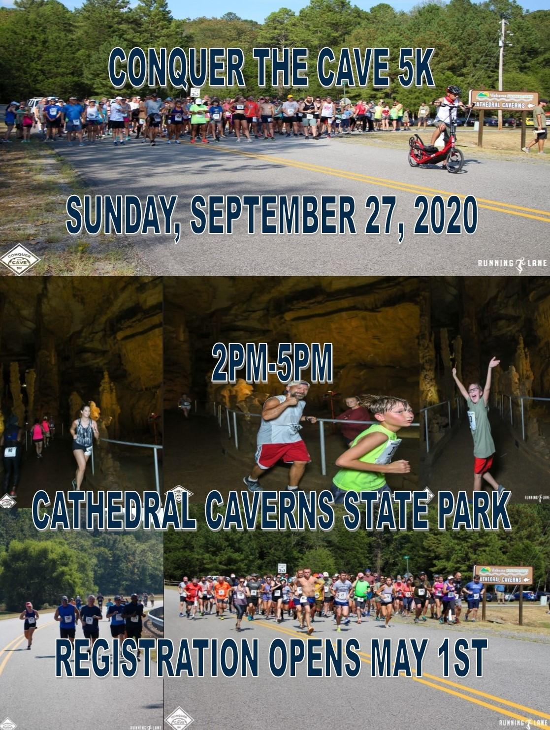 CCSP Conquer the Cave 5K Pic Flyer