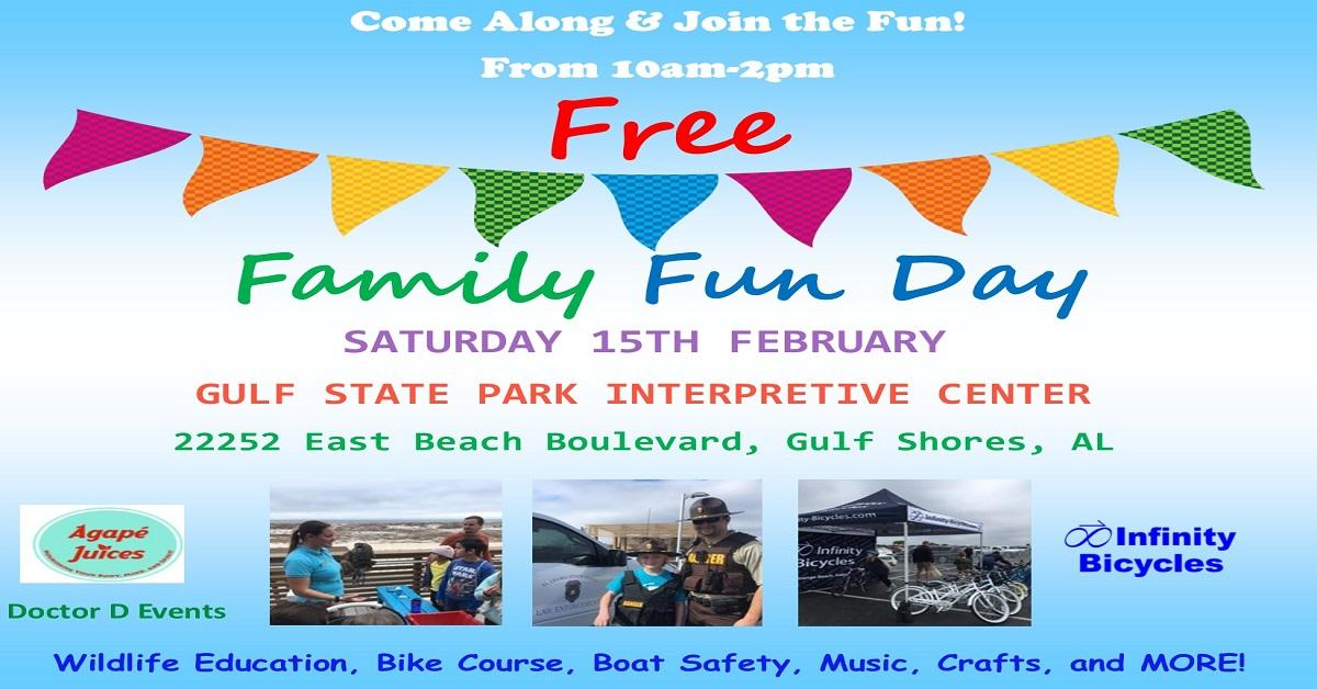 Family Fun Day Flyer 2020