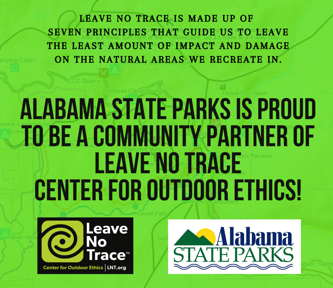 AL ST PK Leave no trace