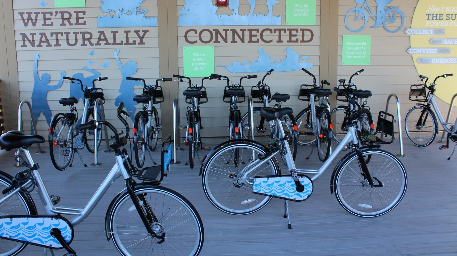 Bike Share Program Featured Throughout the Park