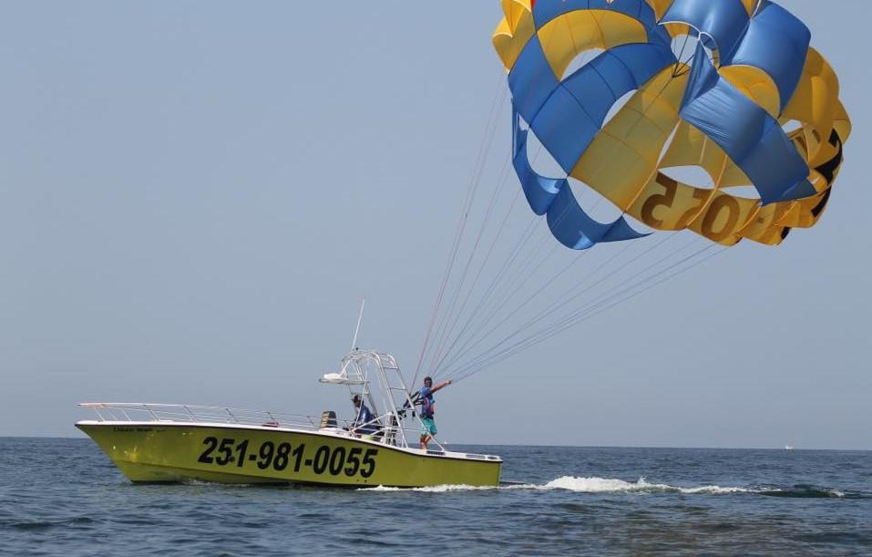 See the Gulf from a New Perspective with Ike' Parasail