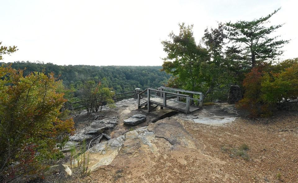Buck's Pocket State Park Overlook