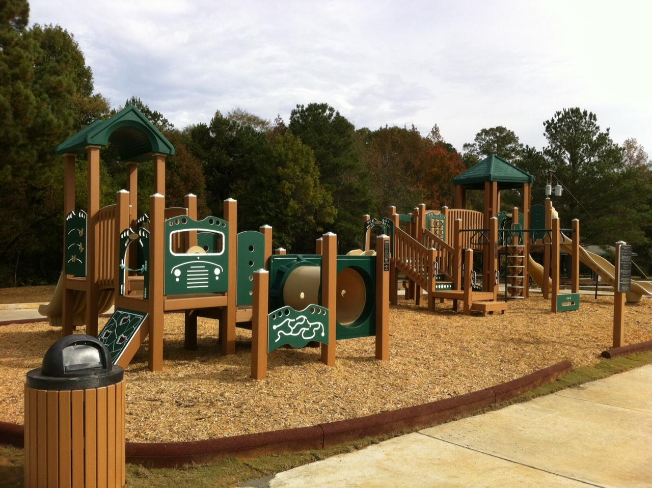 Blue Springs State Park Playground